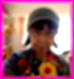 250鏡で自撮り花束.jpg