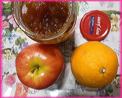 400リンゴ丸ごと&伊予かんのミックスジャム.jpg
