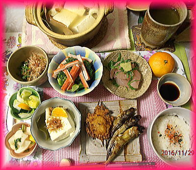 400湯豆腐さしみシシャモなど.jpg