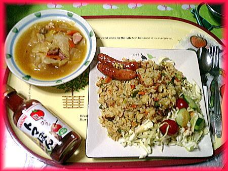 トマポンでキャベツスープ&トマトピラフ.jpg